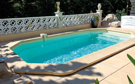 Rubis piscine fond plat ariane piscines for Accessoire piscine 68